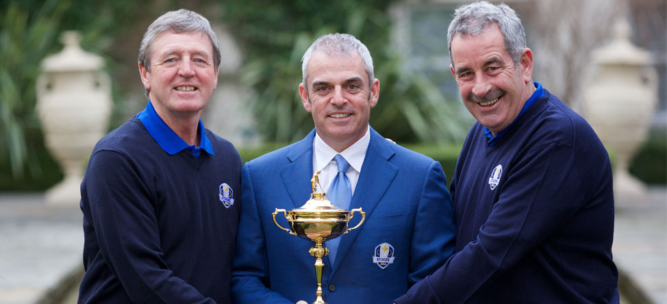 Paul McGinley Announces His Ryder Cup Vice Captains