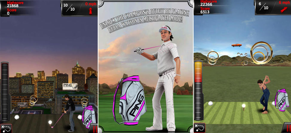 Play BubbaGolf on Your Smartphone