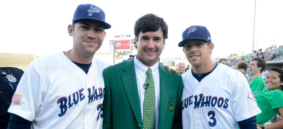 Bubba Watson Returns Home, Tosses Wahoos' 1st Pitch