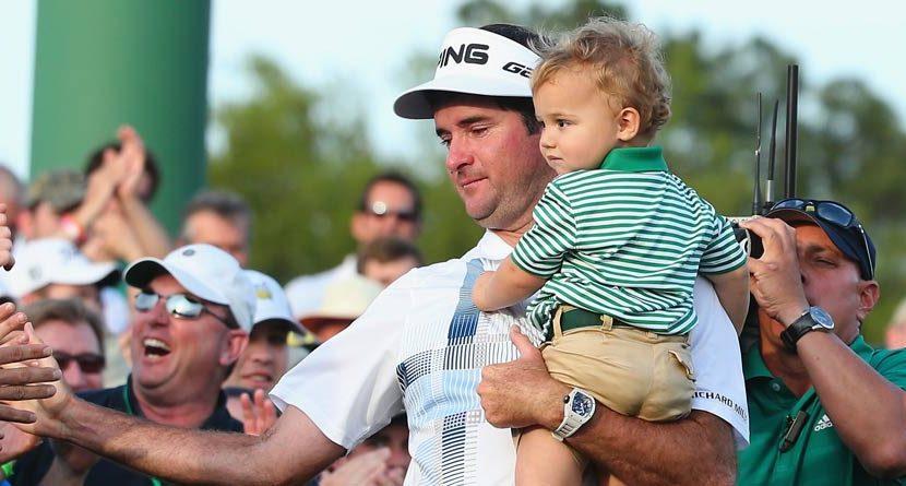 Bubba Watson's Son Already Training for Augusta