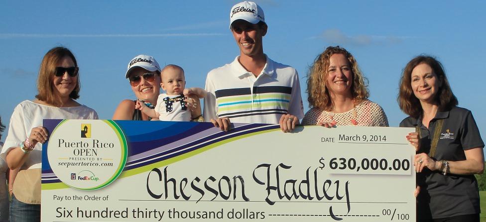 Raising a PGA Tour Baby On the Road Isn't Easy