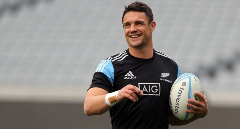 Rugby Superstar Dan Carter Meets Rory McIlroy at Augusta Gym