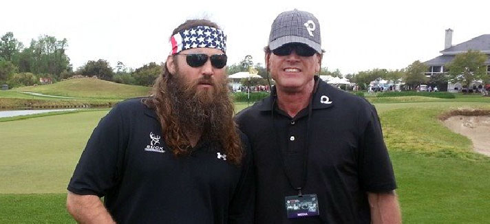 Duck Dynasty's Willie Robertson Meets Golf Counterpart