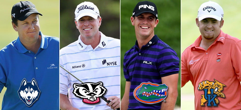 Pro Golfers Have Vested Interests in Final Four
