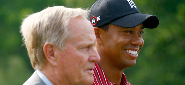 Jack Nicklaus & Tiger Woods
