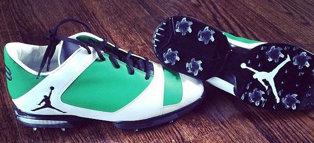 Keegan's Kicks: Masters Green and Jordan 11s