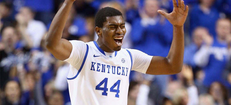 Kentucky Freshman Swings and Misses Before Final Four
