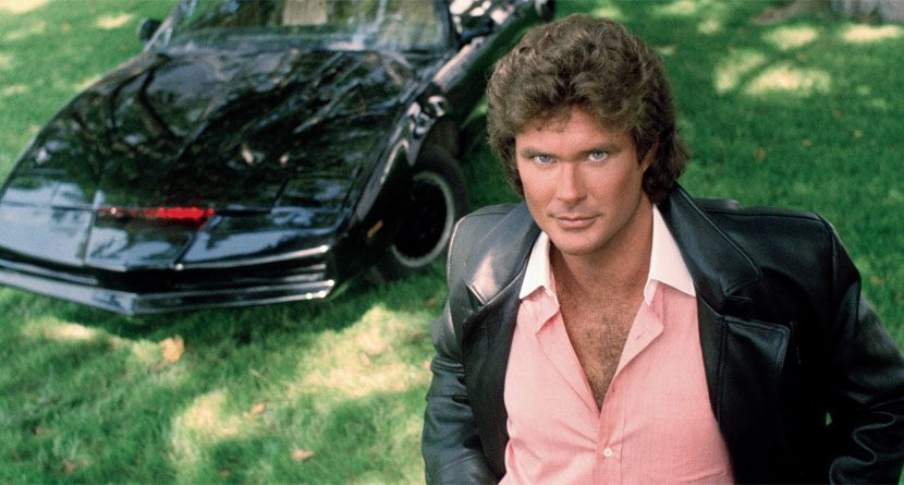 Golf KITT: David Hasselhoff Auctioning Knight Rider Cart