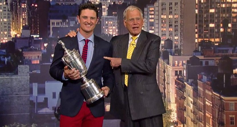 David Letterman's Most Memorable Golf Gags