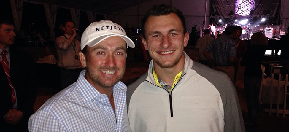 johnny manziel parties with graeme mcdowell at masters
