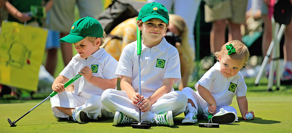 Masters Kid Caddies: The Cutest Things You'll Ever See