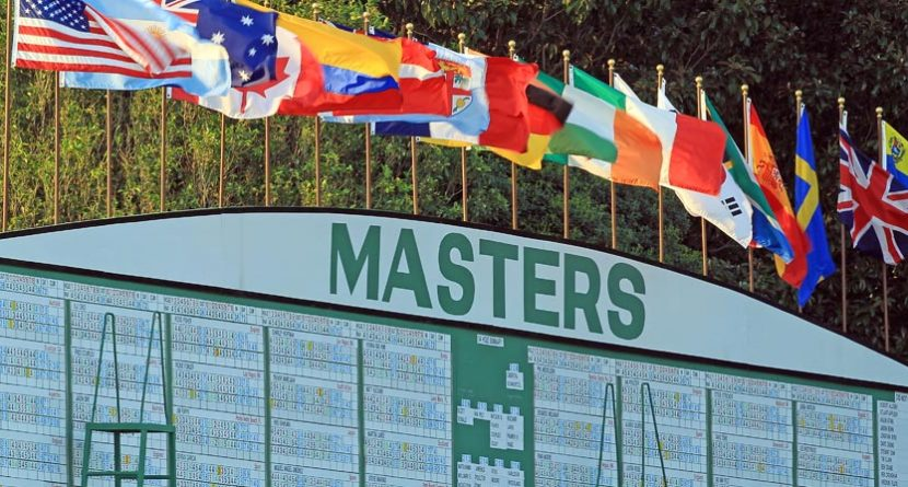 2014 Masters Round 1 & 2 Tee Times and Pairings