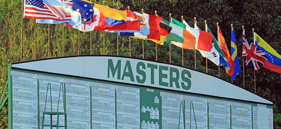 2014 Masters Round 3 Tee Times and Pairings