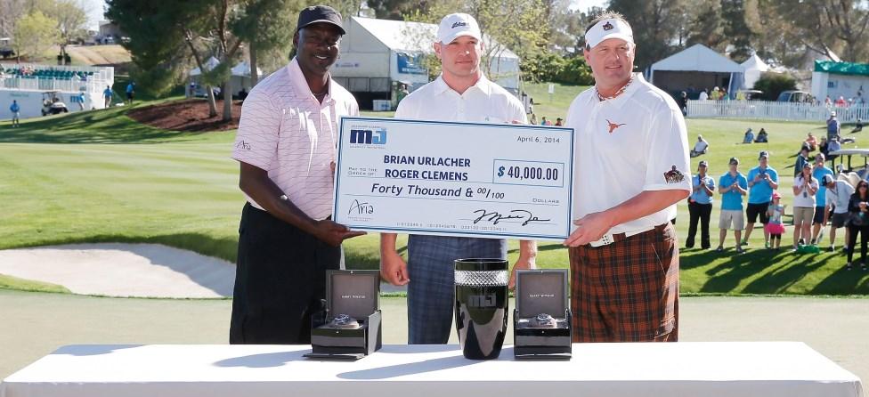 Brian Urlacher, Roger Clemens Claim Michael Jordan Invitational