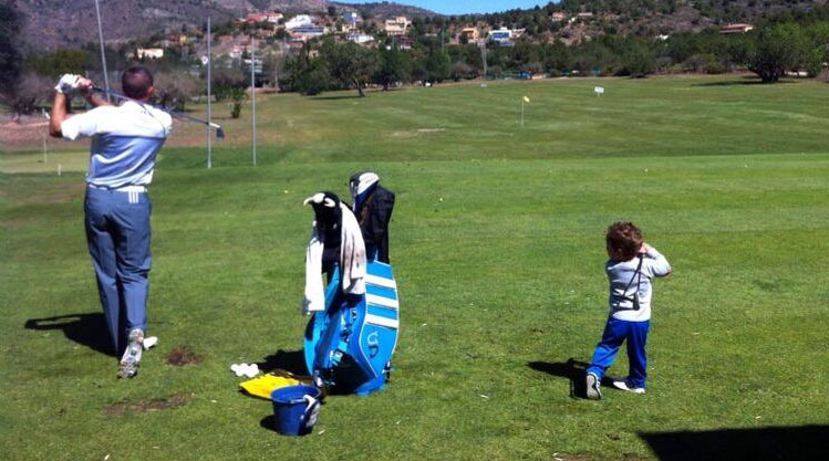 Is Sergio Garcia's Nephew the Next Bubba Watson?
