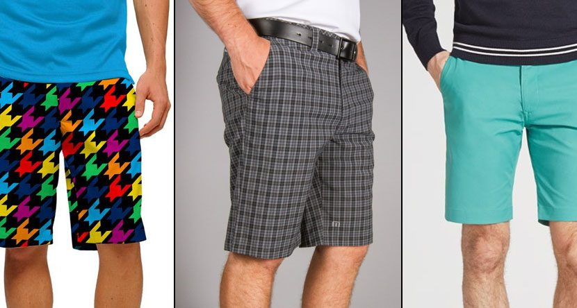 5 Golf Shorts For Spring and Summer 2014