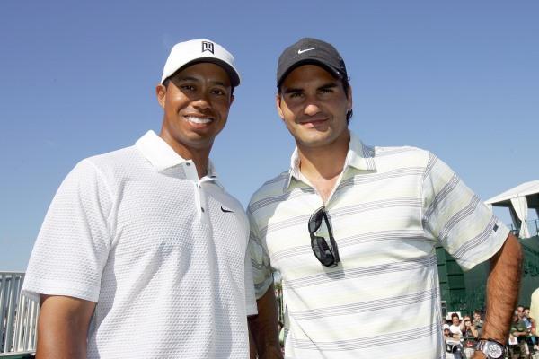 Tiger Woods Roger Federer 600