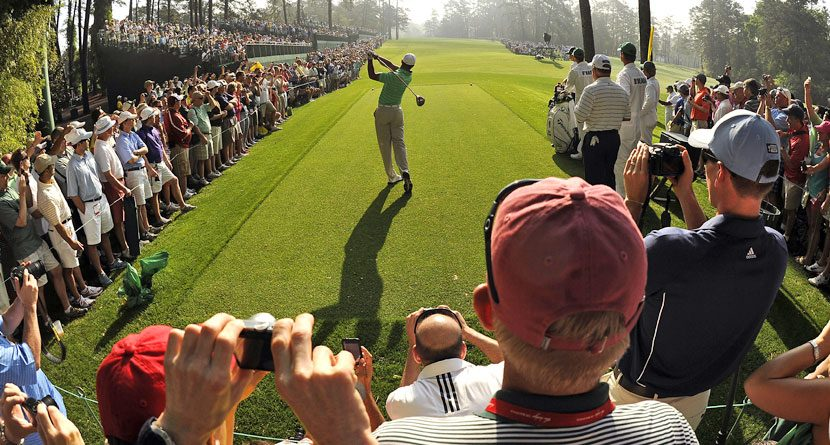 The Best Spots To Watch Golf At Augusta National