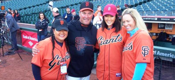 San Francisco Giants Host LPGA Stars for 'Golf Night'