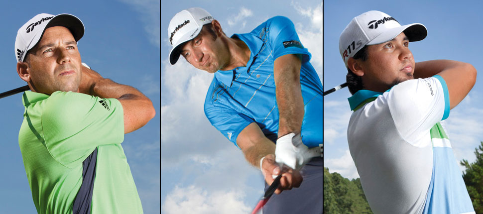 adidas 2014 Masters Scripting for Johnson, Garcia and Day