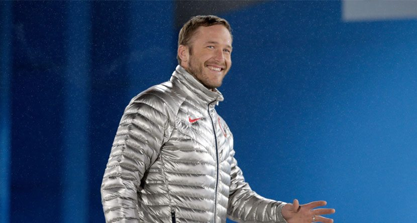 Bode Miller Has Quesadilla Confiscated at Augusta Gates