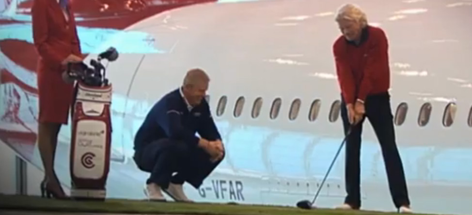 Golfing On Airplanes Is Really Taking Off