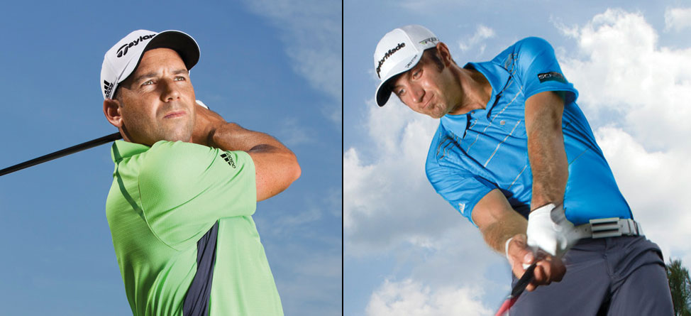 Players Championship Scripting for Johnson, Garcia