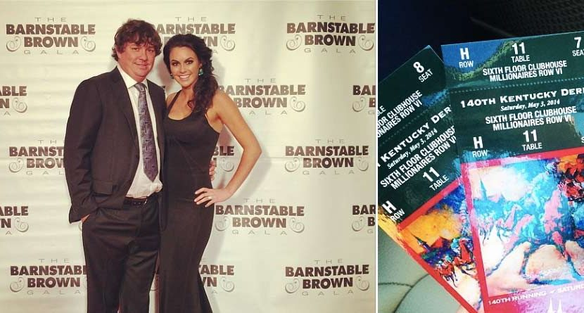 Jason and Amanda Dufner Attend Barnstable Gala, Kentucky Derby