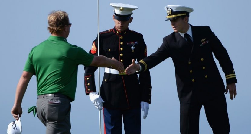 Golfers Salute U.S. Troops for Memorial Day