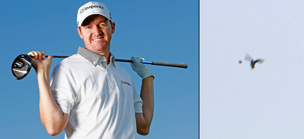 Video: Jimmy Walker Hits A Birdie… For Real
