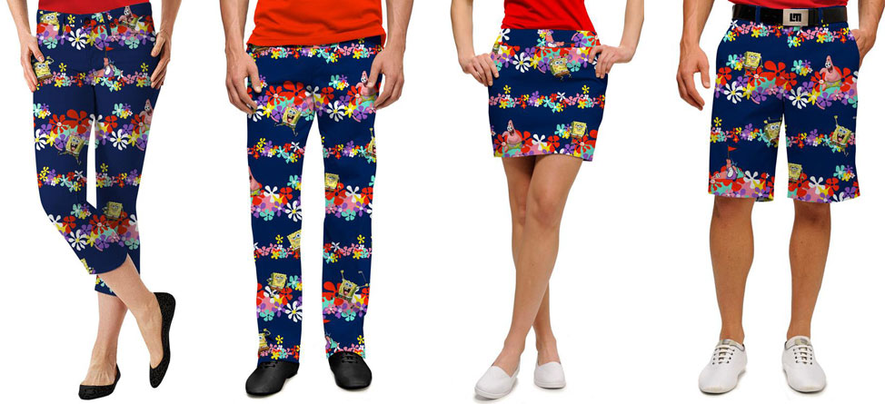 Loudmouth Lets You Wear SpongeBob's SquarePants
