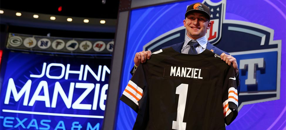 Golfers Weigh In on Wild First Round of NFL Draft