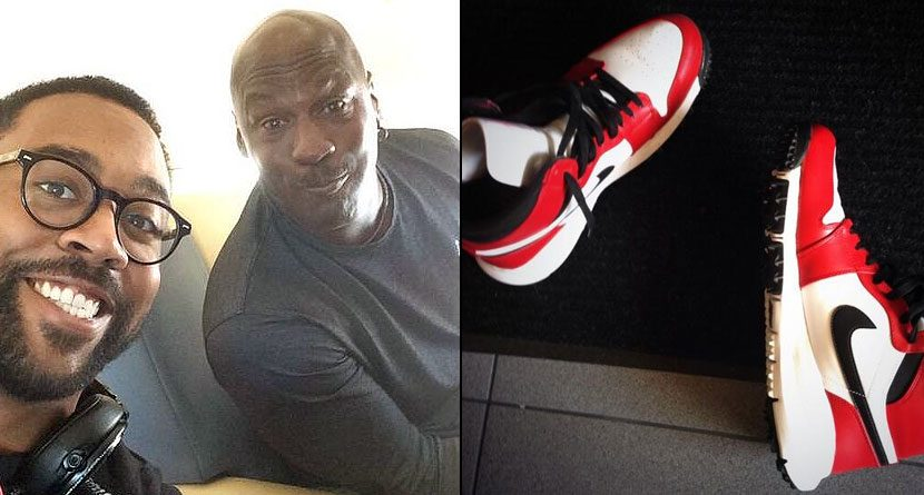 Marcus Jordan Teases Golfers With Custom Air Jordan 1 Golf Shoes