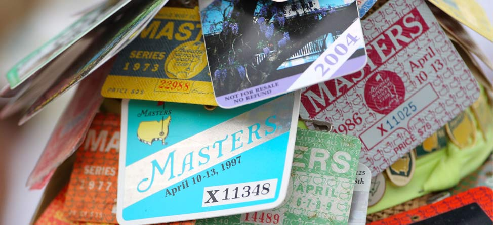 Feeling Lucky? Masters Ticket Lottery Now Open