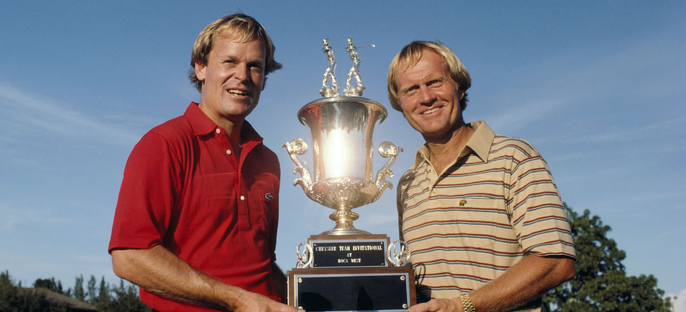 Viral Video: Jack Nicklaus Schools Johnny Miller on Putting Green