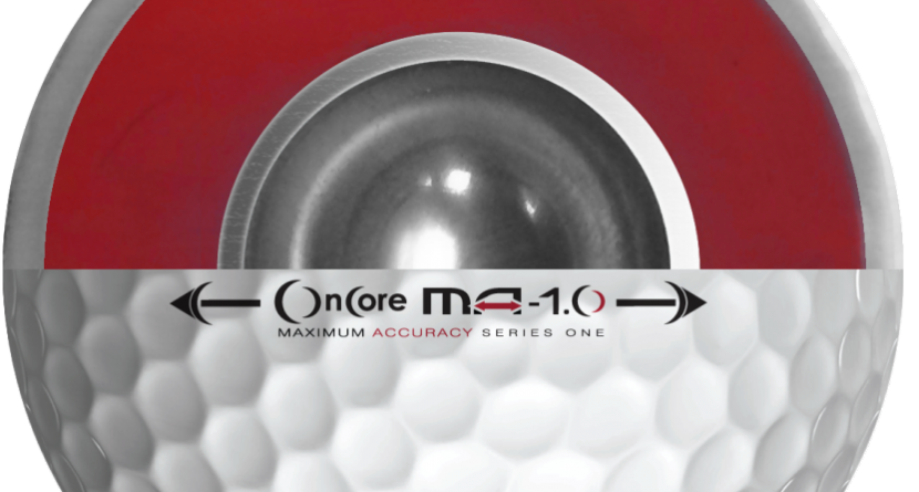 OnCore Golf Releases Metal-Core Golf Balls