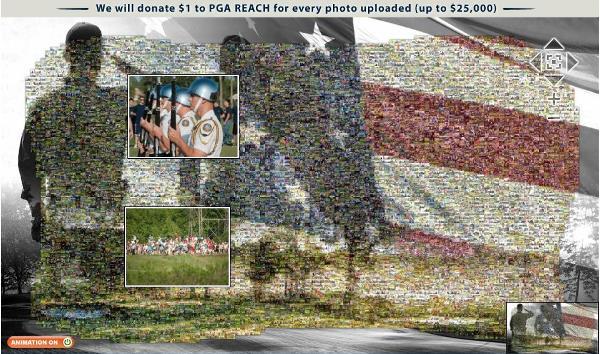 PGA Mosaic