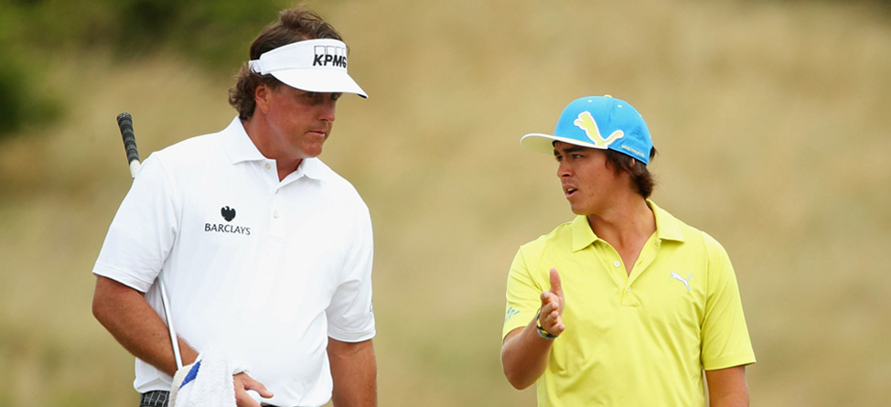 Fowler, Mickelson, DJ Switch Up Swings On Sawgrass' Island Hole