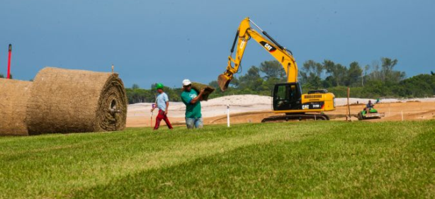 Rio Olympic Golf Course Finally Showing Signs of Life