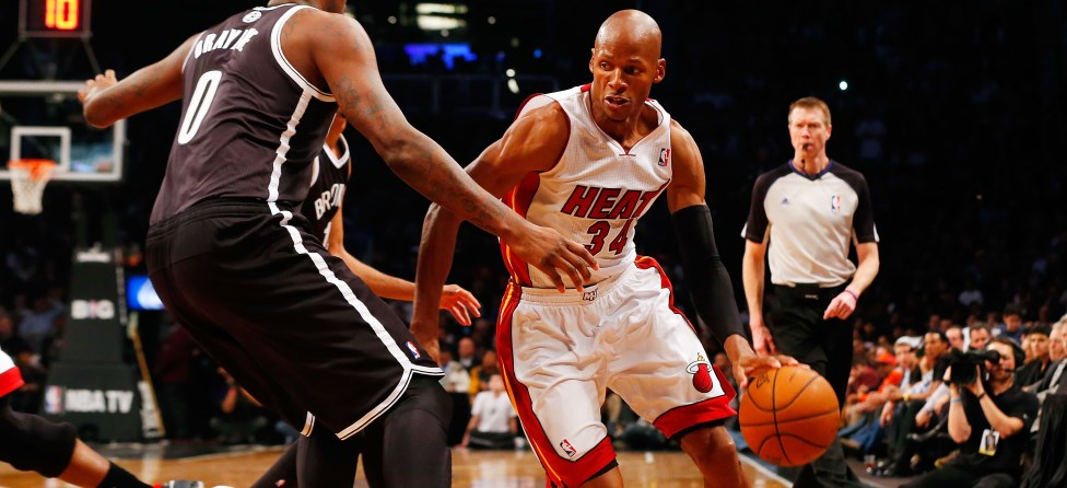 Ray Allen Comes Up Clutch Once Again