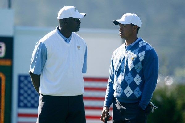 Tiger Woods Michael Jordan 600