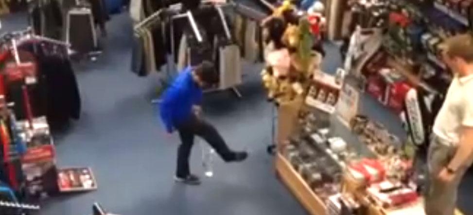 Juggling Pro Shop Trick Shot is Amazing