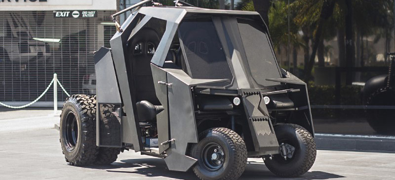 Batcart Rises: Batman-Inspired Golf Cart Returns
