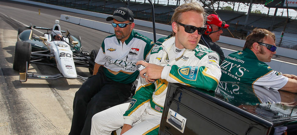 Indy 500 Pole Sitter Ed Carpenter Mixes Racing With Golf