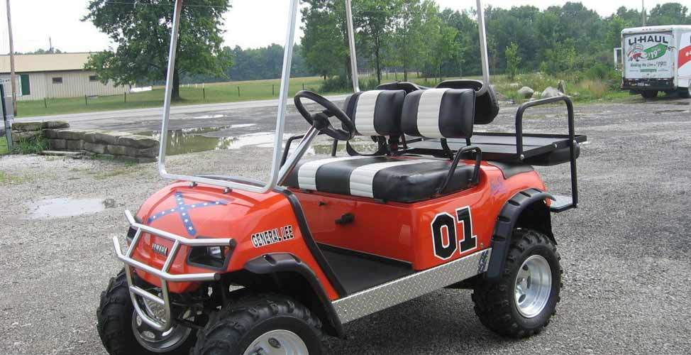 General Lee Makes its Way Onto the Links