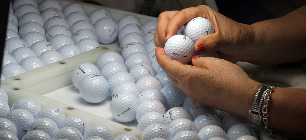 Video: How Golf Balls Are Made