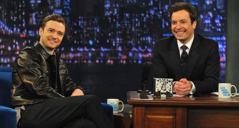 Jimmy Fallon Gets Personalized Justin Timberlake Balls
