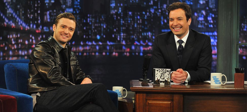 Jimmy Fallon Gets Personalized Justin Timberlake Balls