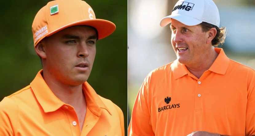 Mickelson Dresses Like Fowler, Rickie Flops Like Phil