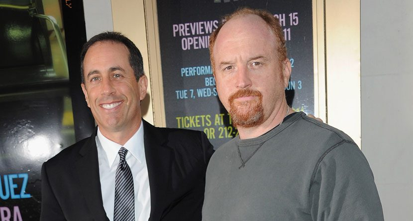 Jerry Seinfeld Zings Golf Again In 'Louie' Premiere